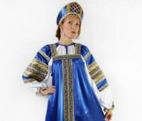 Features of traditional Russian clothing